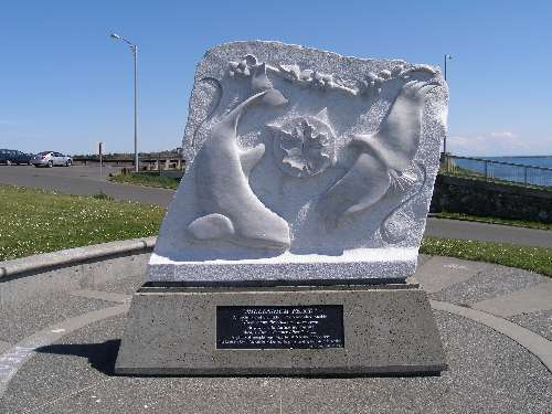 Sculpture or Monument at Clover Point